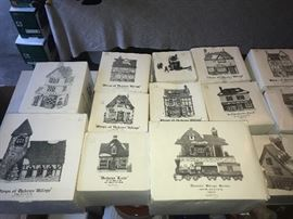 More Dickens' Village Collection.
