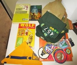 Boy & Girl Scout collectibles