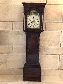 P. GARDEN, BRECHIN ANTIQUE CLOCK.