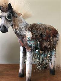 Artist designed horses by Misha Malpica