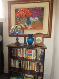 House is full of art, books and many other interesting items Art by Bustamonte