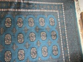 gorgeous bokarra wool area  rug