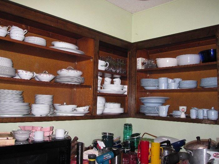 Stoneware and china