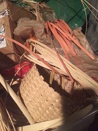 Basket weaving materials
