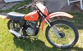 Honda 125 dirt bike