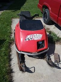 vintage Scorpion snowmobile