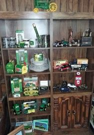 John Deere collectable, gasoline, banks