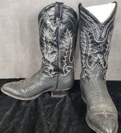 Tony Lama Size 8 EE Men's Cowboy Western Boots