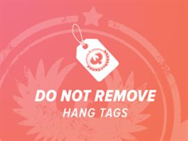 Do not remove hang tags
