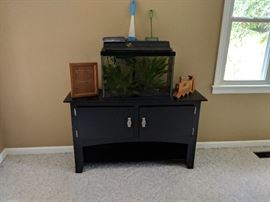 Aquarium and stand or for TV stand