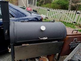 Tejas Smoker BBQ Pit