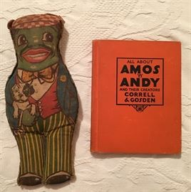 Amos 'n' Andy Doll & Book w/ Antiques Roadshow Appraisals!