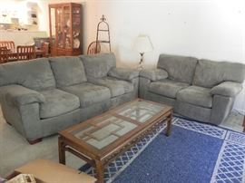 Available for  immediate purchase. Sofa and Loveseat $350.00