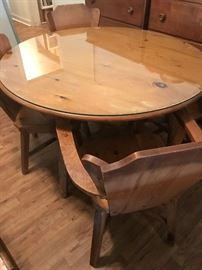 Hand Made Table and Chairs