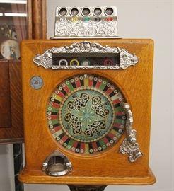 """Caille """"Ben Hur"""" slot machine"""