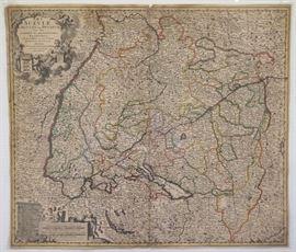 18th century Swiss map