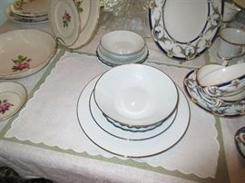Noritake, Reina and Bridal Veil