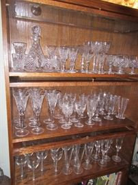 Waterford and other high end crystal sets