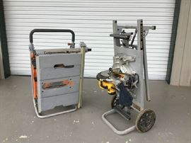 Table saw & miter saw