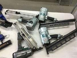 Pneumatic framing guns