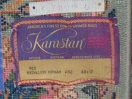 8.8 x 12 Karastan wool rug