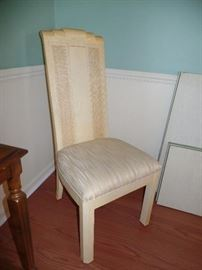 4 side chairs & 2 arm chairs