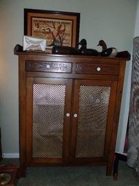 Beautiful Pie Safe cabinet