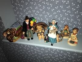 Hummels and Royal Doulton figures