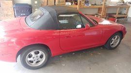 Mazda Miata convertible sports car