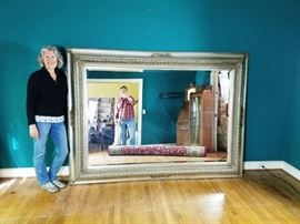 "7'3"" Elegant Mirror   http://www.ctonlineauctions.com/detail.asp?id=712342"