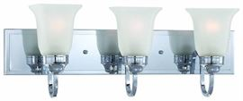 Thomas Parker 3 Light Bath Chrome Finish