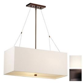 Philips Alexis 3 Light Pendant Merlot Bronze Finis ...
