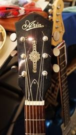 Aria acoustic guitar