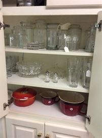 Great gourmet kitchen items, glassware, barware, retro and vintage.