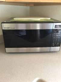 Sharp Carousel microwave  Model # R316-FS  Serial # 98954