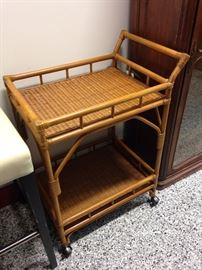 Rattan Bar Cart, 2 of these