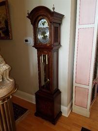 Colonial Clock Company, Zeeland, MI.  Triple chime movement