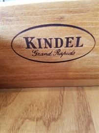 Brand inside drawer