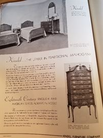 The page from the publication showing the highboy
