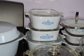Corningware Casserole Dishes with Lids