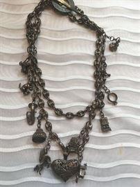 David Navarro sterling silver necklace