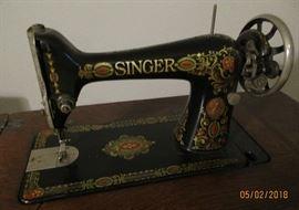 Singer treadle machine