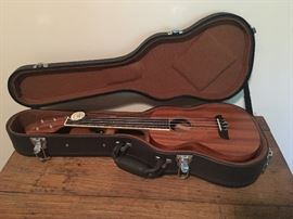 Brand new Ukulele with case (tag still on it)
