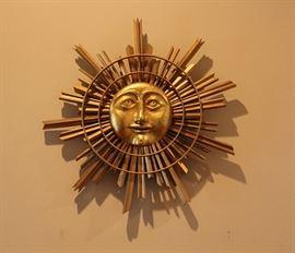 """folk art  """"Mr. Sun"""""""
