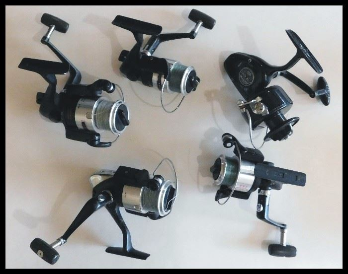 Spin casting reels.
