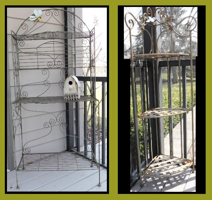 Wire Art Shabby Chic Shelving. Designed to be almost whimsical.