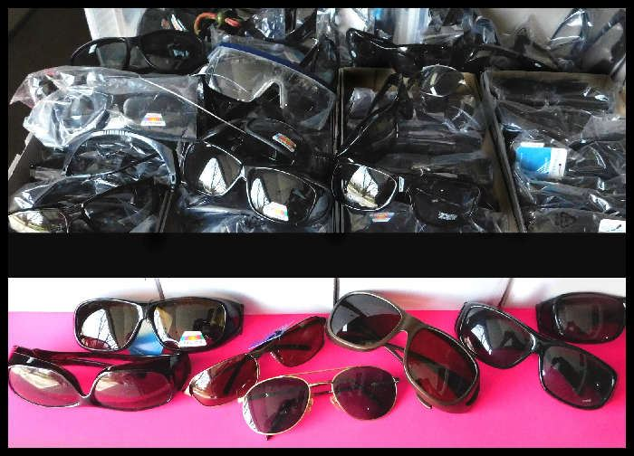 Be groovy in a brand new pair of polarized sunglasses.