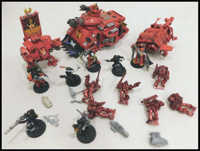 Furioso Dreadnaught Blood Angels Gaming Toys.