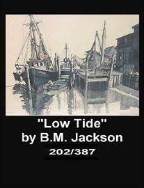 Limited edition print by B. M. Jackson.  I think I would rethink using my middle initial.