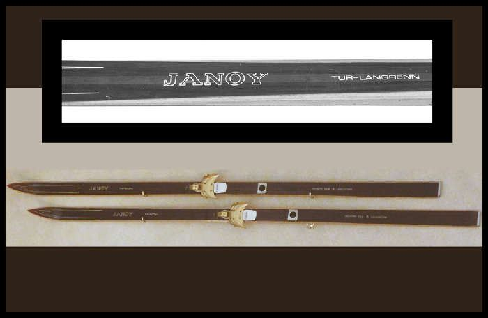 Janoy Tur Langren Hickory Cross Skis from Norway Company founded by Jan Haug.